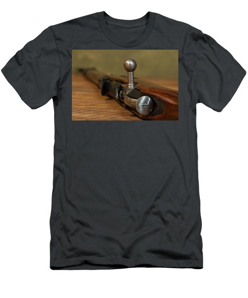 Bolt Action Men's T-Shirt (Athletic Fit)