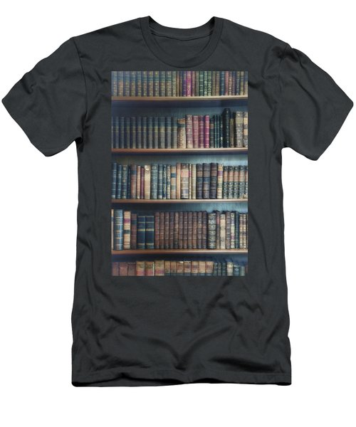 Bookshelf Men's T-Shirt (Athletic Fit)