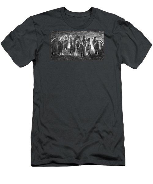 Boss Hoss Men's T-Shirt (Slim Fit) by Joan Davis