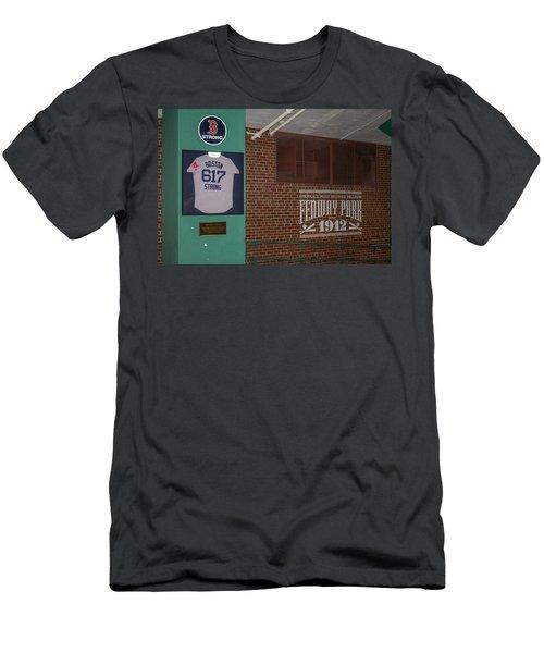 Boston Strong Men's T-Shirt (Slim Fit) by Tom Gort