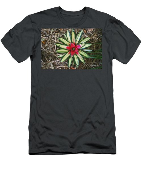Men's T-Shirt (Slim Fit) featuring the photograph Botanical Flower by Tom Janca