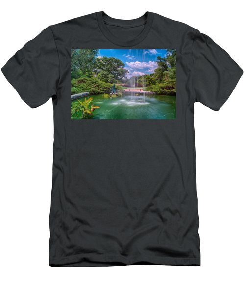 Botanical Garden Men's T-Shirt (Athletic Fit)