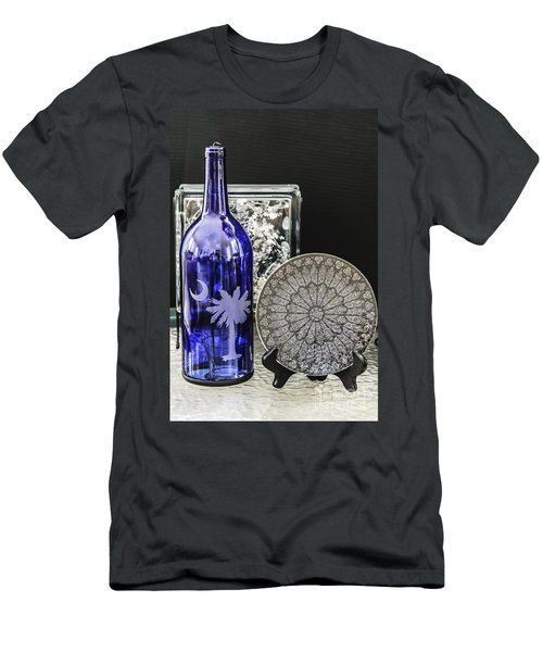 Bottle And Plate Men's T-Shirt (Athletic Fit)