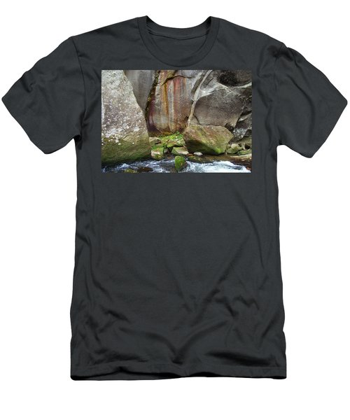 Boulders By The River Men's T-Shirt (Athletic Fit)