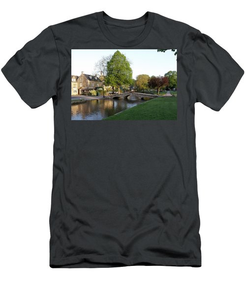 Bourton On The Water 2 Men's T-Shirt (Athletic Fit)