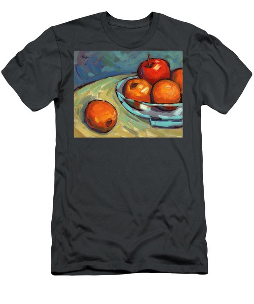 Bowl Of Fruit 2 Men's T-Shirt (Athletic Fit)