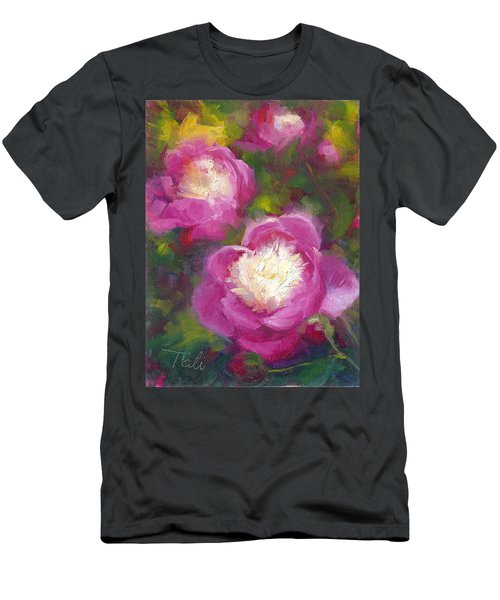 Bowls Of Beauty - Alaskan Peonies Men's T-Shirt (Athletic Fit)
