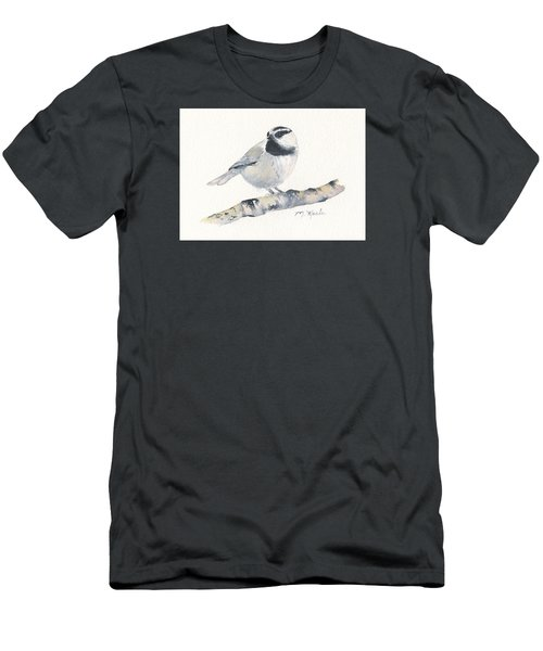 Bozeman Native - Mountain Chickadee Men's T-Shirt (Athletic Fit)