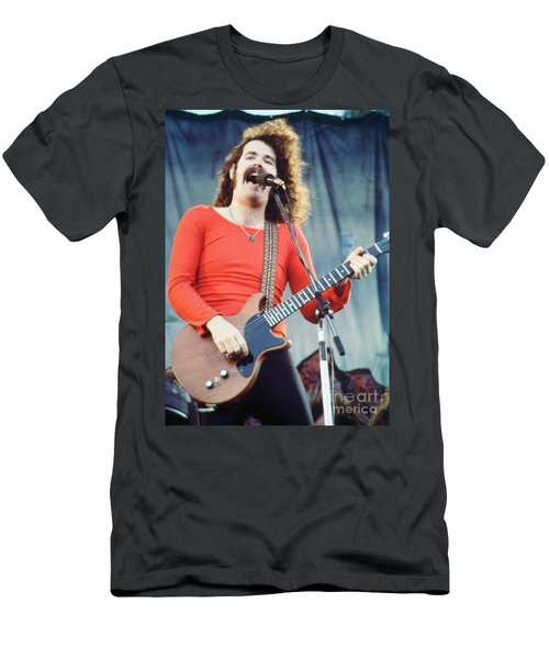 Brad Delp Of Boston-day On The Green 1 In Oakland Ca 5-6-79 1st Release Men's T-Shirt (Athletic Fit)