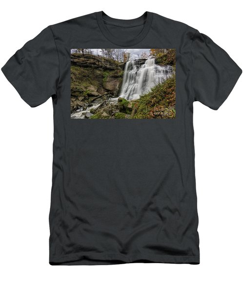 Brandywine Falls Men's T-Shirt (Slim Fit) by James Dean