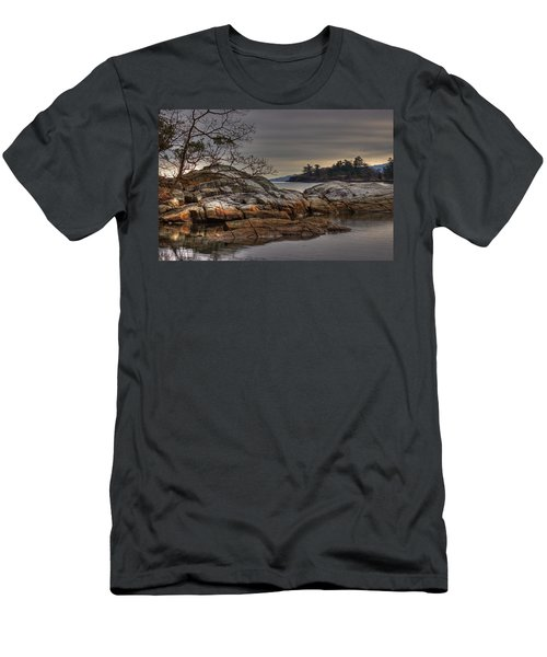 Tranquil Waters Men's T-Shirt (Athletic Fit)