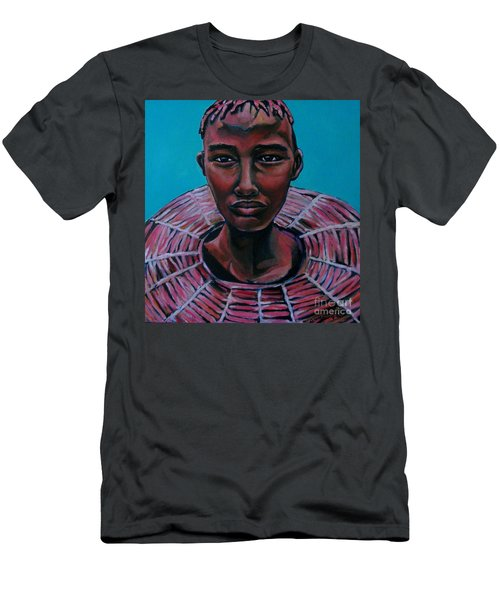 Bride - Portrait African Men's T-Shirt (Athletic Fit)