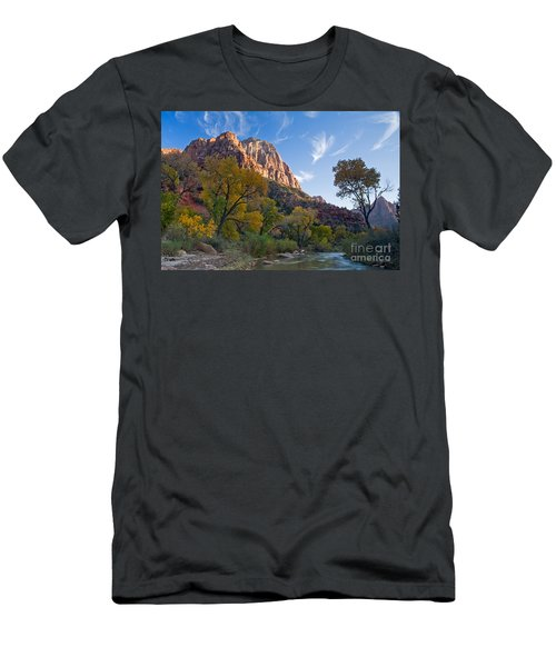Bridge Mountain Men's T-Shirt (Athletic Fit)