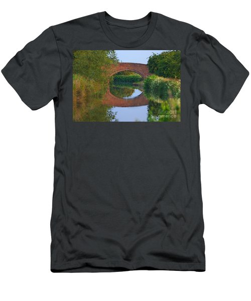 Bridge Over The Canal Men's T-Shirt (Athletic Fit)
