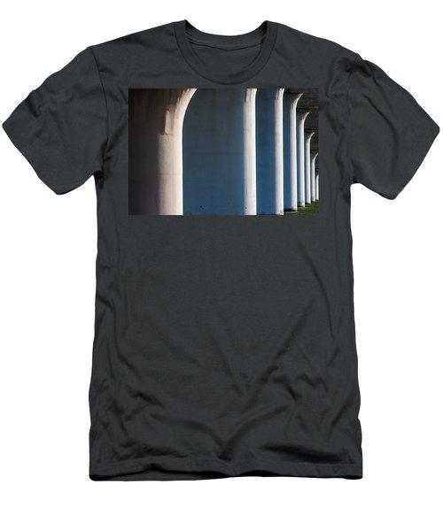 Bridge Patterns 1 Men's T-Shirt (Athletic Fit)