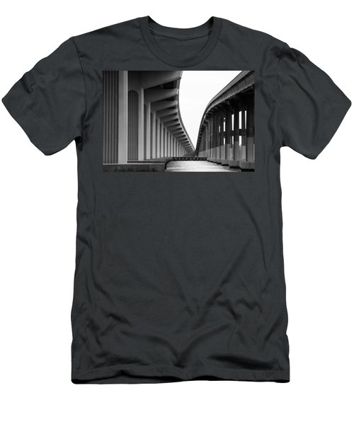 Bridge To Nowhere Men's T-Shirt (Athletic Fit)