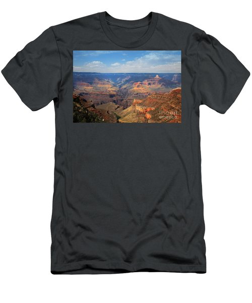 Bright Angel Trail Grand Canyon National Park Men's T-Shirt (Athletic Fit)