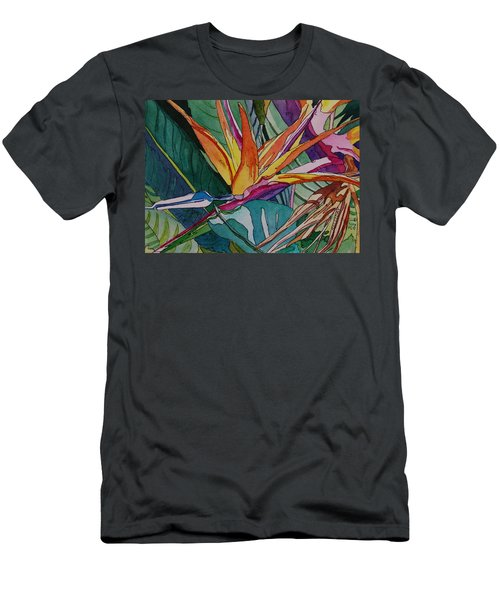 Brillant Bird Of Paradise Men's T-Shirt (Athletic Fit)
