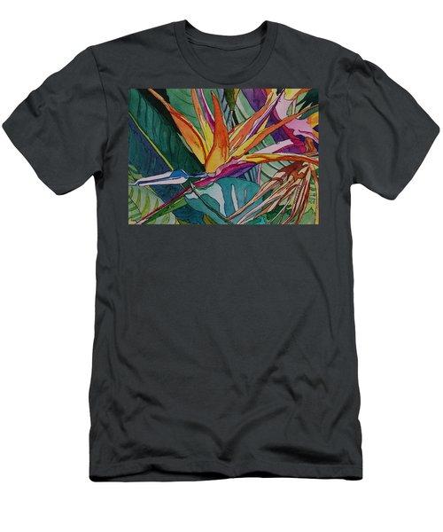Brillant Bird Of Paradise Men's T-Shirt (Athletic Fit)