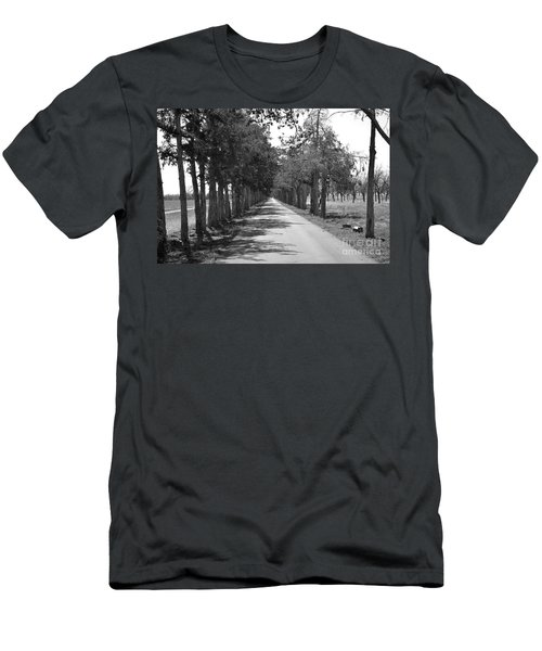 Broken Road Men's T-Shirt (Athletic Fit)