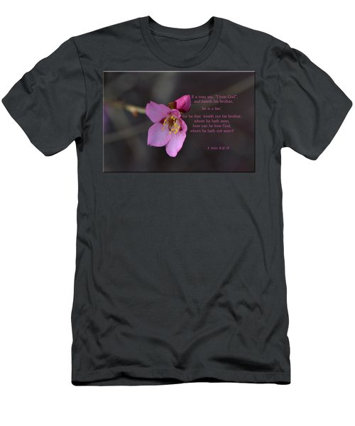 Men's T-Shirt (Slim Fit) featuring the photograph Brotherly Love by Larry Bishop