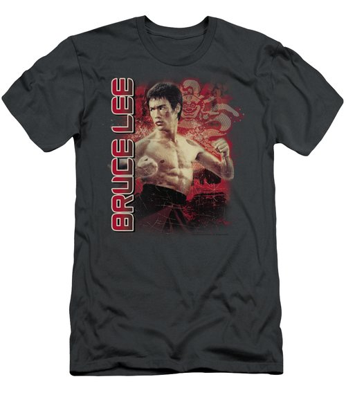 Bruce Lee - Fury Men's T-Shirt (Athletic Fit)