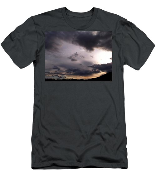 Brushing A Sunset Men's T-Shirt (Athletic Fit)