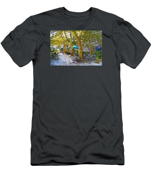 Bryant Park October Men's T-Shirt (Athletic Fit)