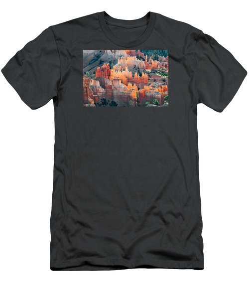 Bryce Canyon At Sunrise Men's T-Shirt (Athletic Fit)