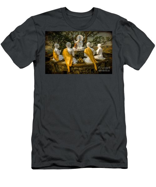 Buddha Lessons Men's T-Shirt (Athletic Fit)