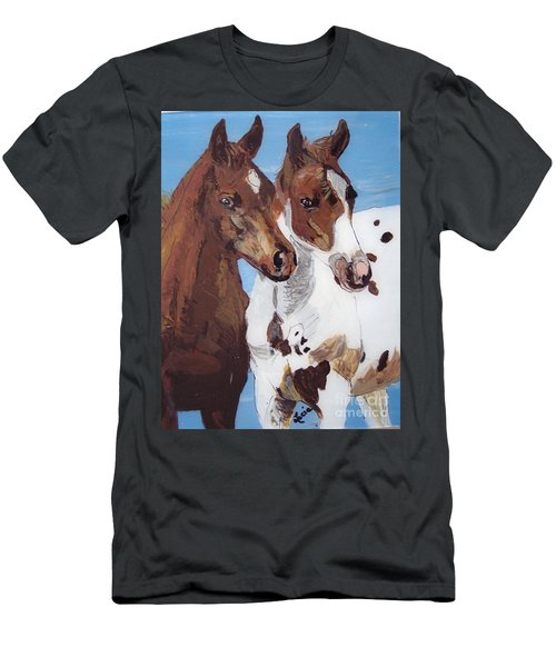 Buddies Men's T-Shirt (Athletic Fit)
