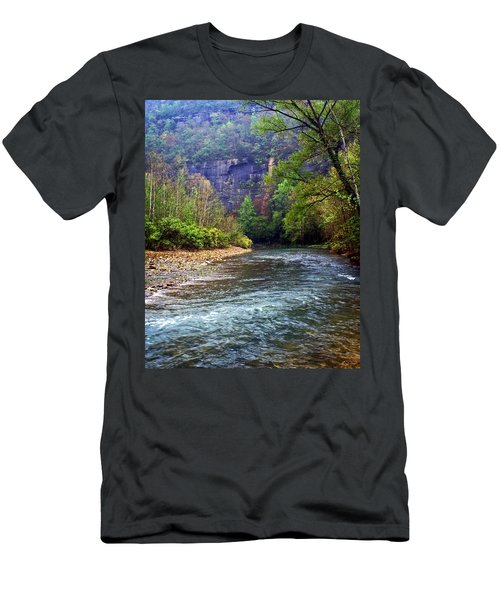 Buffalo River Downstream Men's T-Shirt (Athletic Fit)
