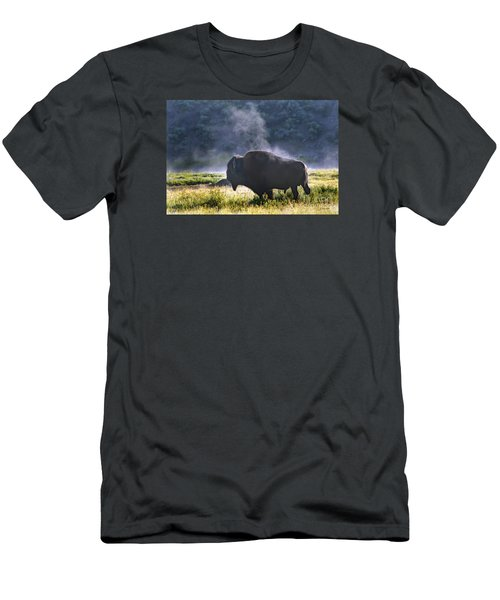 Buffalo Steam-signed-#2170 Men's T-Shirt (Athletic Fit)