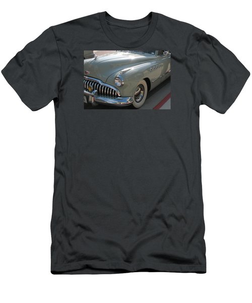 Buick Roadmaster Men's T-Shirt (Slim Fit) by Connie Fox