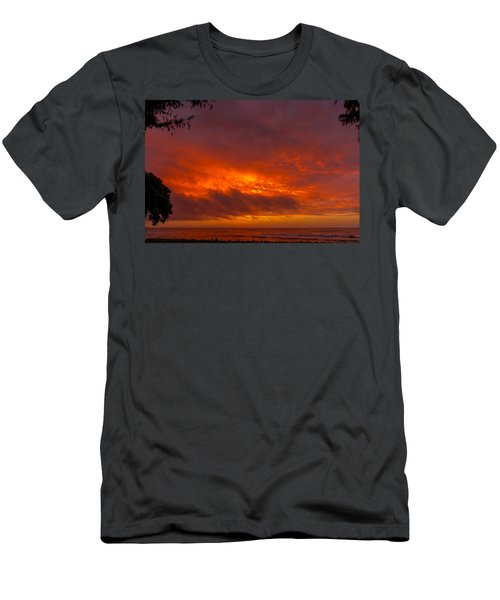 Bursting Sky Men's T-Shirt (Athletic Fit)
