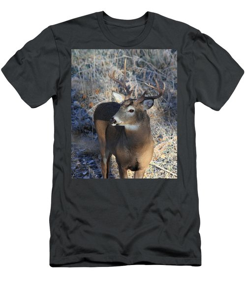 Busted Antlers Men's T-Shirt (Athletic Fit)
