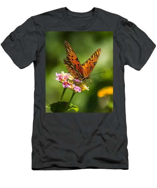 Busy Butterfly Men's T-Shirt (Athletic Fit)