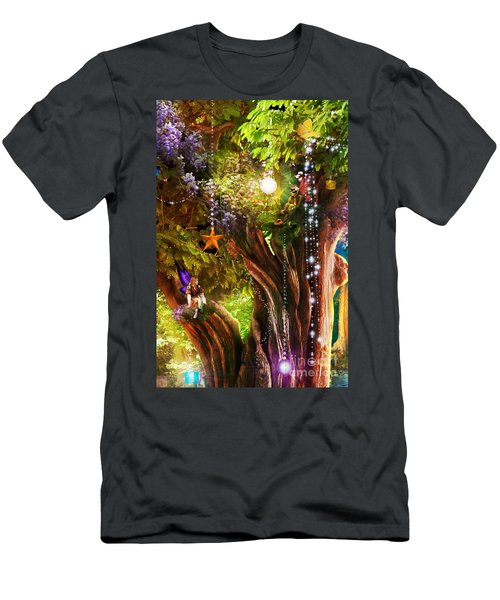 Butterfly Ball Tree Men's T-Shirt (Athletic Fit)
