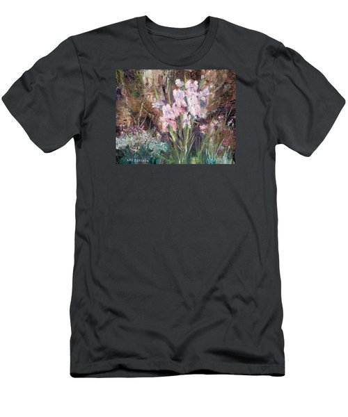 By The Side Of The Road Men's T-Shirt (Slim Fit) by Lee Beuther