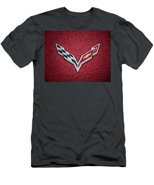 C7 Badge Men's T-Shirt (Athletic Fit)