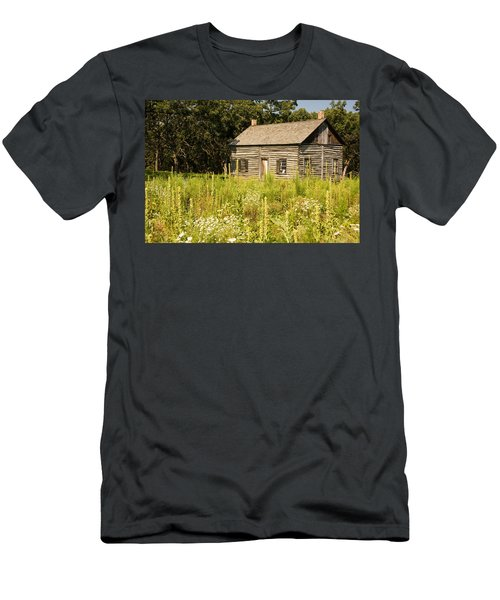 Cabin In The Prairie Men's T-Shirt (Athletic Fit)