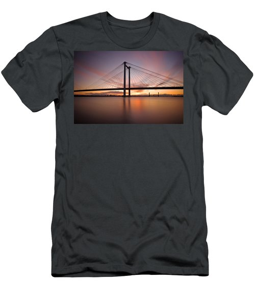 Cable Bridge Men's T-Shirt (Athletic Fit)