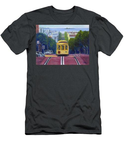 Cable Car Men's T-Shirt (Athletic Fit)