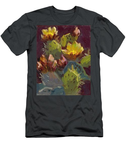 Cactus In Bloom 1 Men's T-Shirt (Athletic Fit)