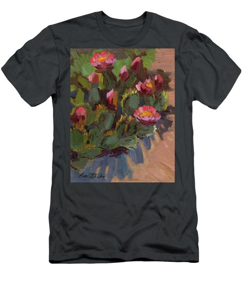 Cactus In Bloom 2 Men's T-Shirt (Athletic Fit)
