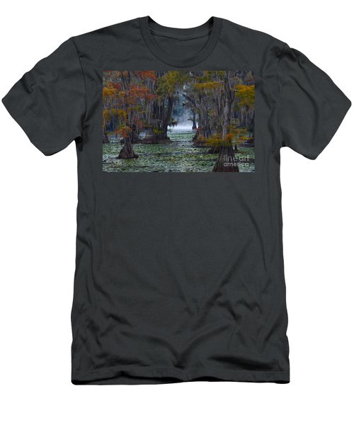 Caddo Lake Morning Men's T-Shirt (Athletic Fit)