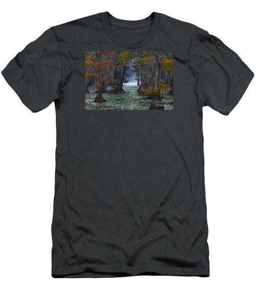 Caddo Lake Morning Men's T-Shirt (Athletic Fit)