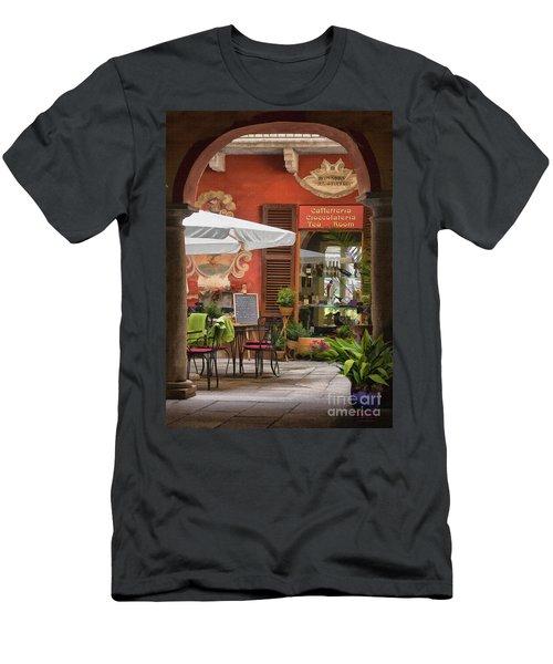 Caffeteria Orta San Guilio Men's T-Shirt (Athletic Fit)