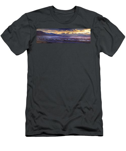 Calafate Panoramic Men's T-Shirt (Slim Fit) by Bernardo Galmarini