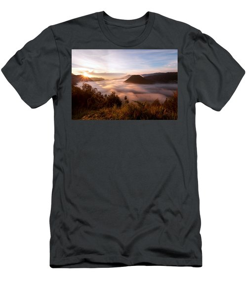 Caldera Sunrise Men's T-Shirt (Athletic Fit)